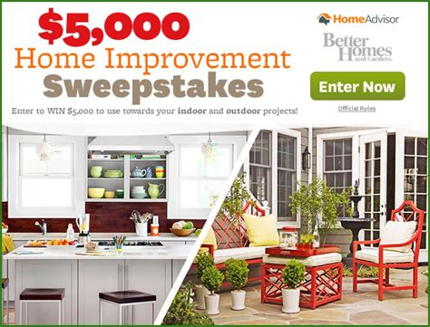 top home improvement sweepstakes this 28 images