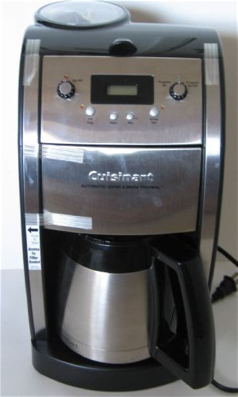 cuisinart coffee maker problems: cuisinart coffee maker problems For Cuisinart DCC 590 Grind and
