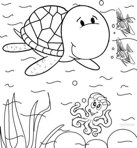 sea turtle coloring pages printable coloring pages