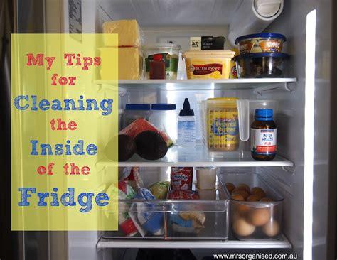 tips  cleaning     fridge
