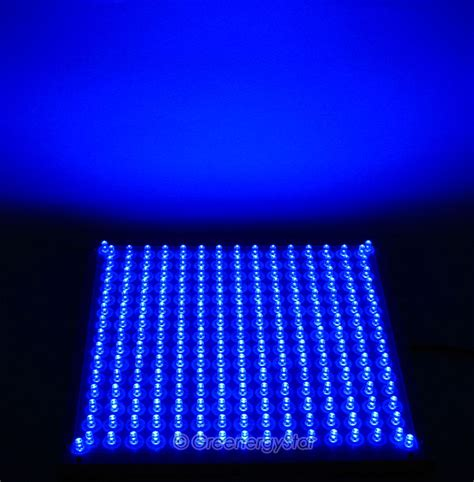 blue led grow lights blue white grow light led panel hydroponic 110v 225 v