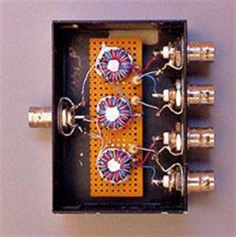 Dx Splitter Antenna 3 Way 4 port box home brew antenna splitter radio stuff