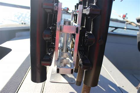 Rod Rack For Boat by Vertical Fishing Rod Rack For Boats Diy Simple Portable