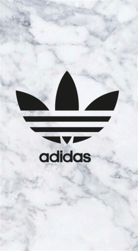 adidas wallpaper marble adidas logo on marble background phone wallpaper