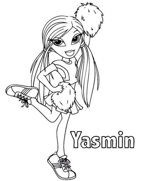 baby bratz coloring pages coloring pages