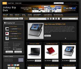 template blog toko online keren gratis template toko online blogspot gratis