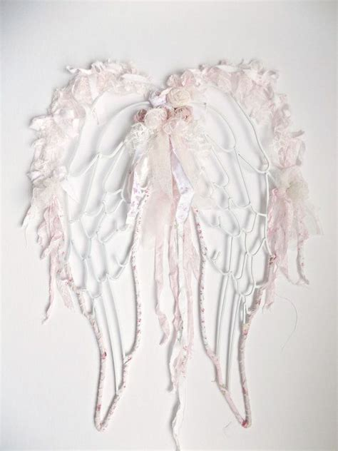 shabby chic angel wings lace angel wings french by