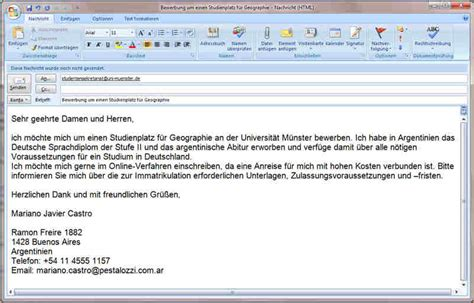 Bewerbung Anschreiben In Email 8 Bewerbung Email Anschreiben Deckblatt Bewerbung