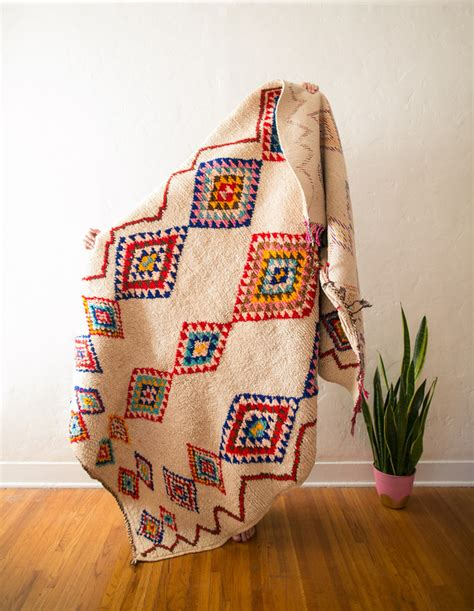 Moroccan Elephant Rug by Vintage Berber Boucherouite Rugs Design Files