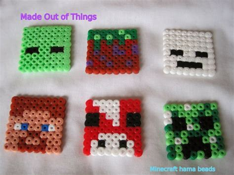 cool things to make with perler made out of things hama bead ideas for the