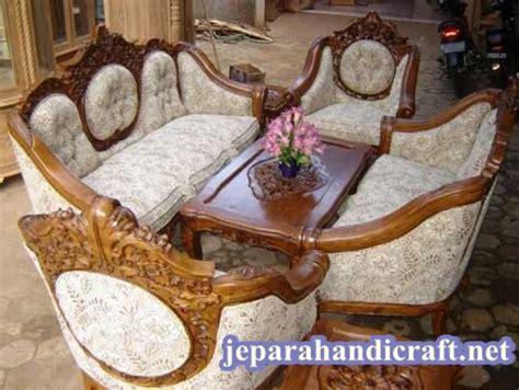 Kursi Sofa Ganesha Jambu Warna Kombinasi 100 terbaru daftar harga set kursi tamu ukir jati