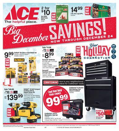 ace hardware flyer december ace hardware flyer