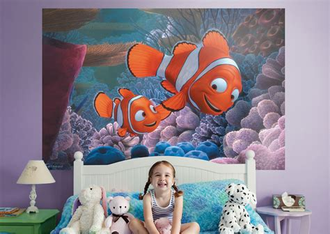 finding nemo mural wall decal shop fathead  finding