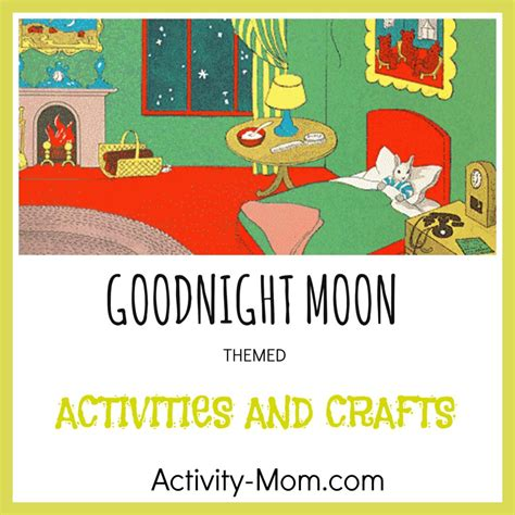 Goodnight Moon Worksheet by The Activity Goodnight Moon Activities