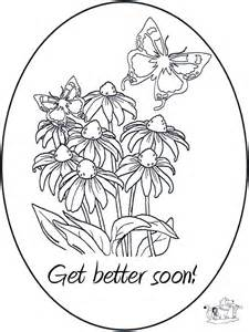 get well coloring pages get well soon coloring cards coloring home