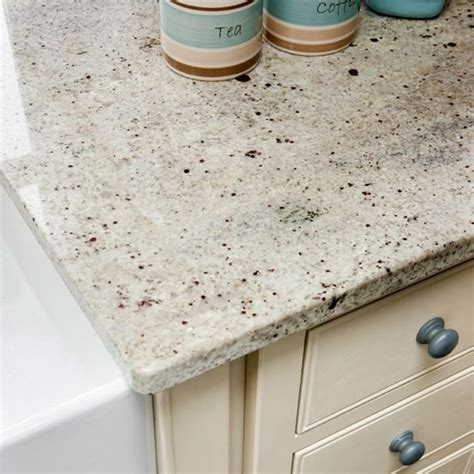 Neutral Units And Worktops To Keep The Kitchen As Light As Kitchen Worktop Lights