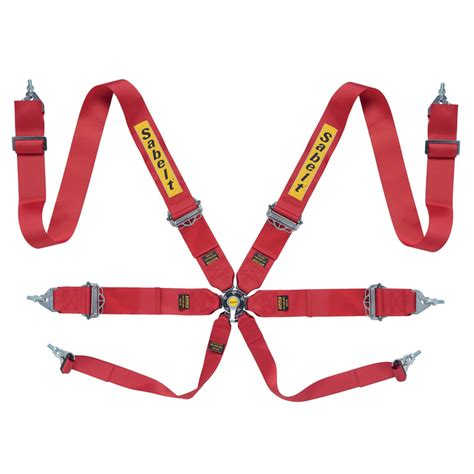 Seat Belt By Sabelt Type Release 4 Point sabelt silver series ultralight 6 point harness gsm