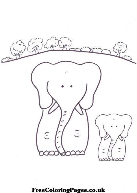 Big And Small Coloring Pages big and small coloring pages thelittleladybird