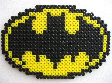small pattern logo perler small batman logo by slimer530 on deviantart