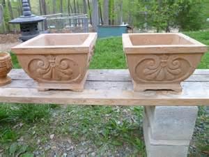 Concrete Flower Pots Drew S Flower Pot Shenandoah Castingsshenandoah Castings