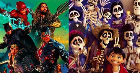 film justice league box office can coco conquer justice league at the thanksgiving box