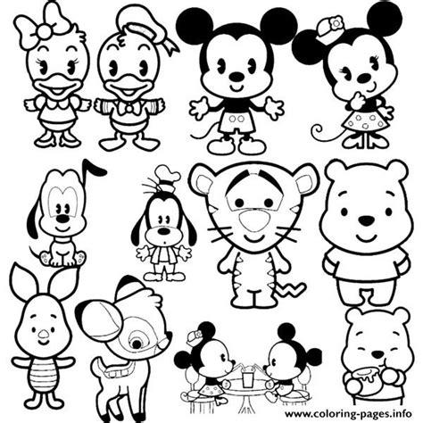 tsum disney coloring pages disney cuties tsum tsum coloring pages printable