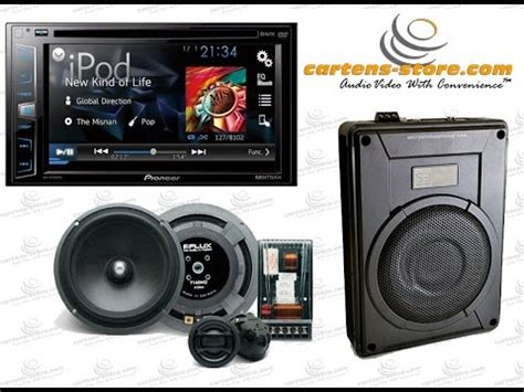 Speaker Subwoofer Terbaik Mobil audio mobil simpel upgrade hu speaker dan subwoofer aktif kolong jok mobil