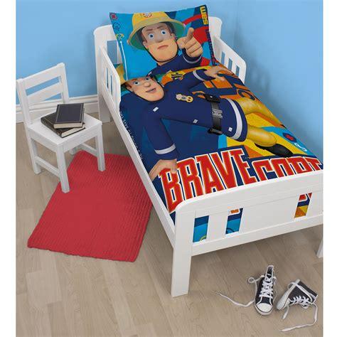 Fireman Sam Bedroom Furniture Fireman Sam Duvet Cover Sets In Single And Junior Sizes Boys Bedroom Ebay