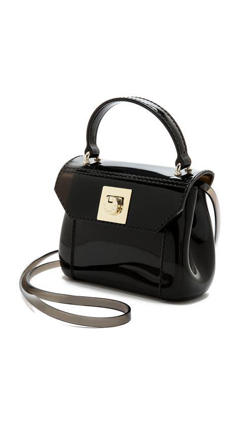 Furla Cevro Single Bag 6110 2 furla mini cross bag in black smoke black lyst