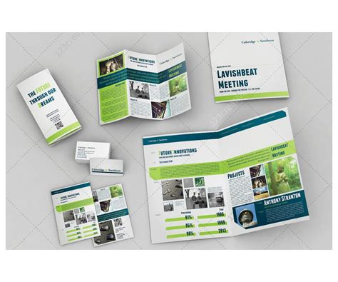 brochure layout templates printable layout templates set of brochures corporate