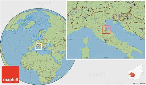 san marino on world map savanna style location map of san marino