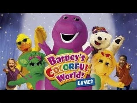 barney colorful world barney barney s colorful world live