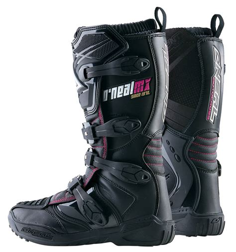pink motocross boots new o neal oneal mx element womens motocross offroad boots