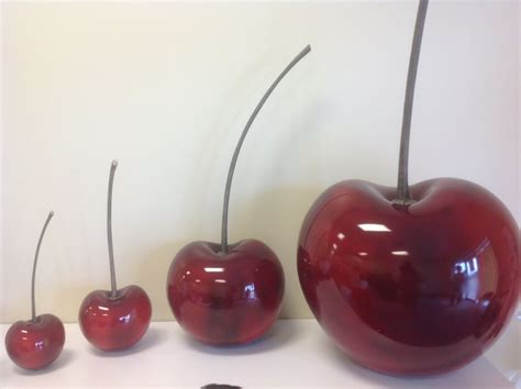 cherry decorations for home large cherry fruit collection for home decor ebay