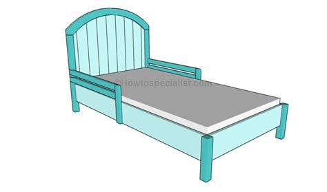 toddler bed frame how to build a toddler bed howtospecialist how to