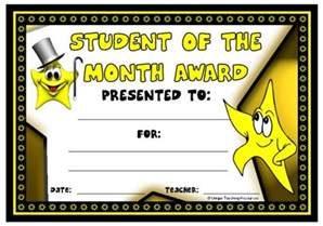 student of the month certificate template achievement award certificates education certificates outstanding student of the month