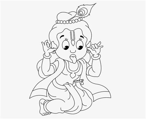 colour drawing free hd wallpapers little krishna coloring