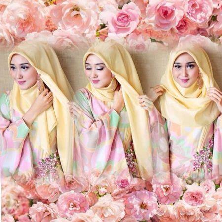 Jilbab Segi Empat Dian Pelangi tutorial segi empat dian pelangi