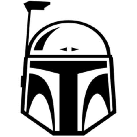 Bobba Black Alive Arts boba fett icons noun project