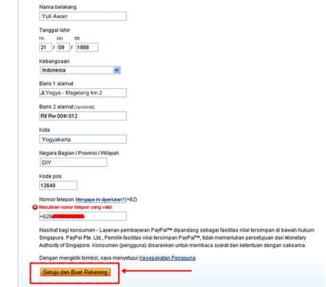 Membuat Paypal Melalui Hp | cara membuat akun paypal lengkap dengan gambar tips cara