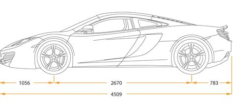 ferrari sketch side view car drawings side view