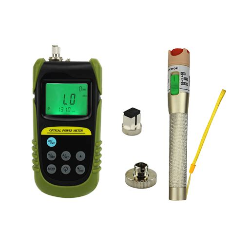 Optical Power Meter Visual Fault Locator 30mw fiber optical power meter 30mw visual fault locator fiber optic cable tester ebay