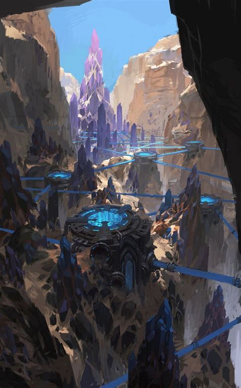 sci fi fantasy art hidden in the mountains art sci fi fantasy scifi mountain art sci fi fantasy