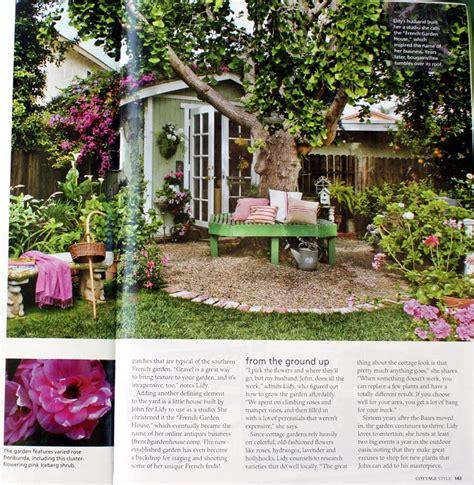 cottage garden magazine cottage style magazine garden feature