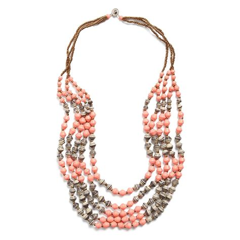 Layered Necklaces The Accessory by Stitch Fix Summer Accessories Odette Beaded Layer