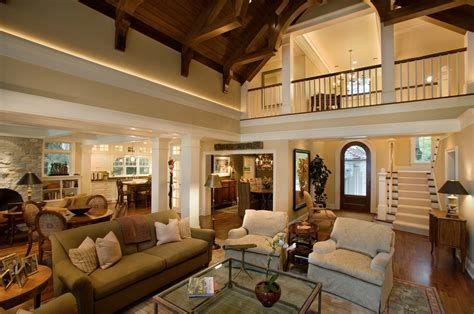 vaulted ceiling open floor plans the pros and cons of having an open floor plan home
