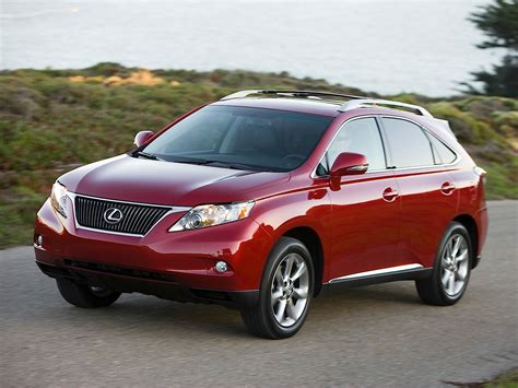 red lexus 2008 lexus rx 2008 2009 2010 2011 2012 autoevolution