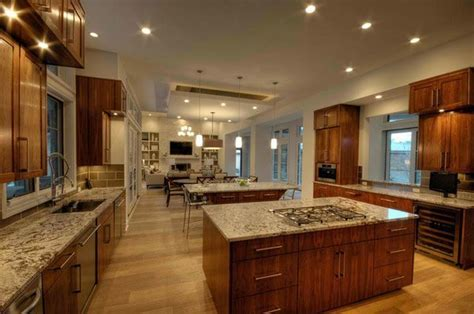 15 Big Kitchen Design Ideas   Home Design Lover