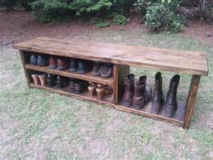 mud bench coastal oak designs wooden bench for shoes and boots