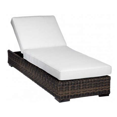 wicker chaise cushions sunset west montecito wicker adjustable chaise